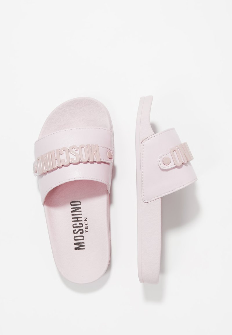 MOSCHINO - Pantofle - sprint rosa