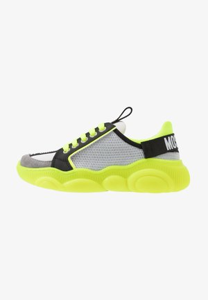 Trainers - grey/neon yellow