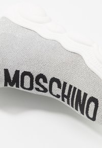 MOSCHINO - Sneaker high - light grey - 2