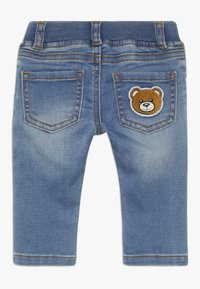 MOSCHINO - TROUSERS - Jeans a sigaretta - blue - 1