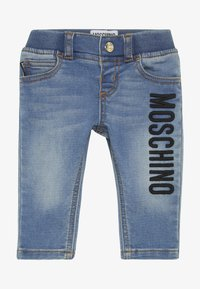 MOSCHINO - TROUSERS - Jeans a sigaretta - blue - 3