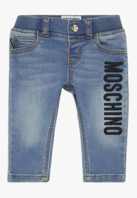 MOSCHINO - TROUSERS - Jeans a sigaretta - blue - 0