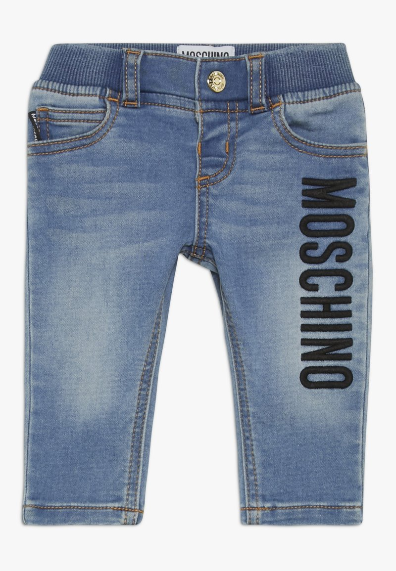 MOSCHINO - TROUSERS - Jeans a sigaretta - blue