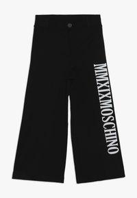MOSCHINO - TROUSERS - Kangashousut - black - 0