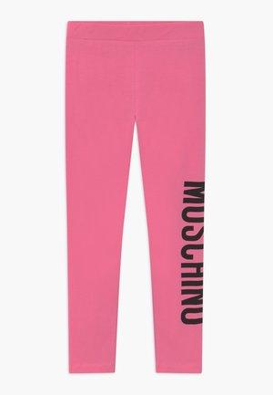 Legginsy - dark pink