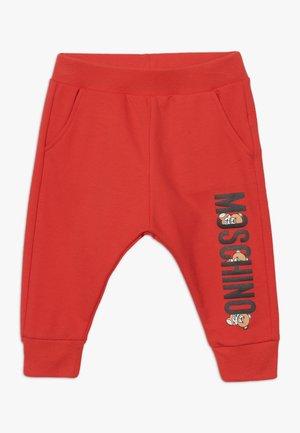Teplákové kalhoty - poppy red