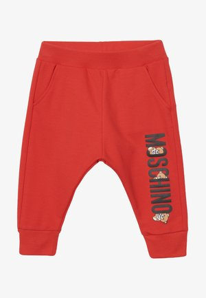 Tracksuit bottoms - poppy red