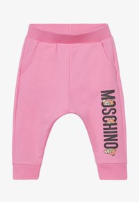 MOSCHINO - Teplákové kalhoty - dark pink - 2
