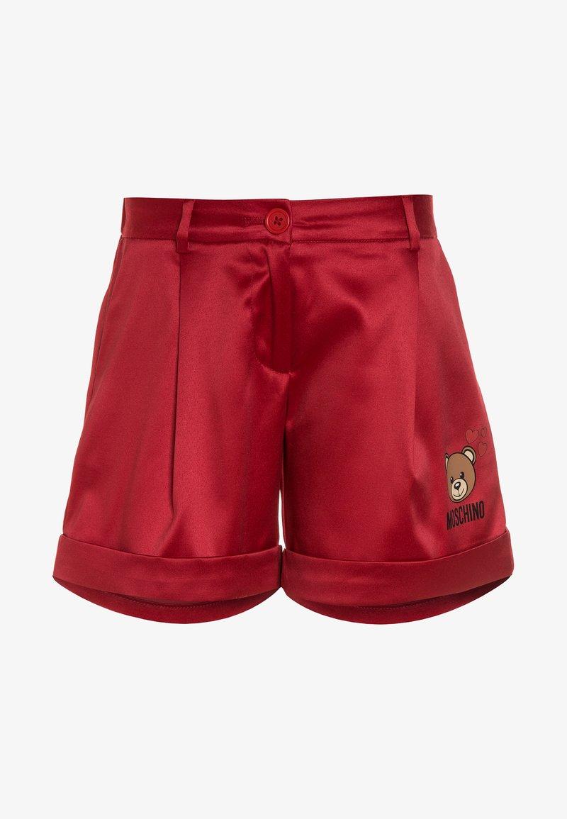 MOSCHINO - Pantalones - fiery red