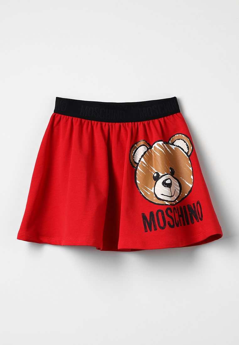 MOSCHINO - SKIRT - Minisukně - fiery red