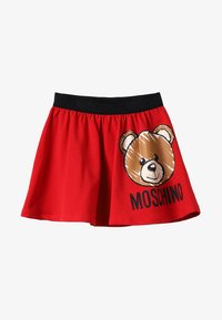 MOSCHINO - SKIRT - Minisukně - fiery red - 3