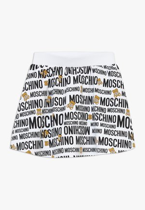 SKIRT ADDITION - Mini skirt - optic white