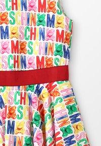MOSCHINO - DRESS - Juhlamekko - white/rose - 3
