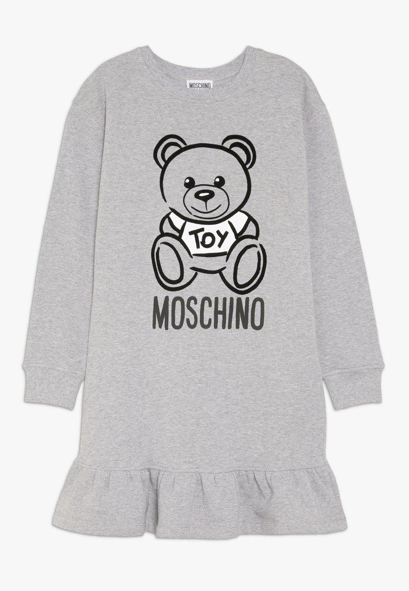 MOSCHINO - DRESS - Denní šaty - grey