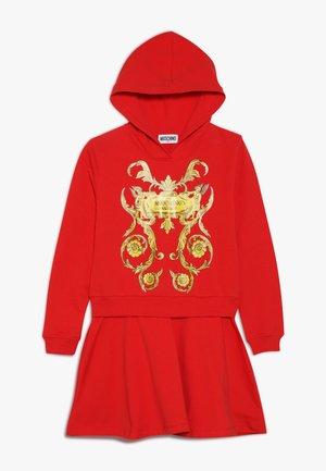 DRESS - Denní šaty - poppy red