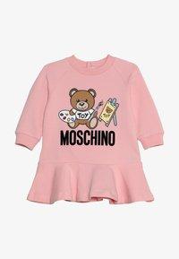 MOSCHINO - DRESS - Freizeitkleid - sugar rose - 3
