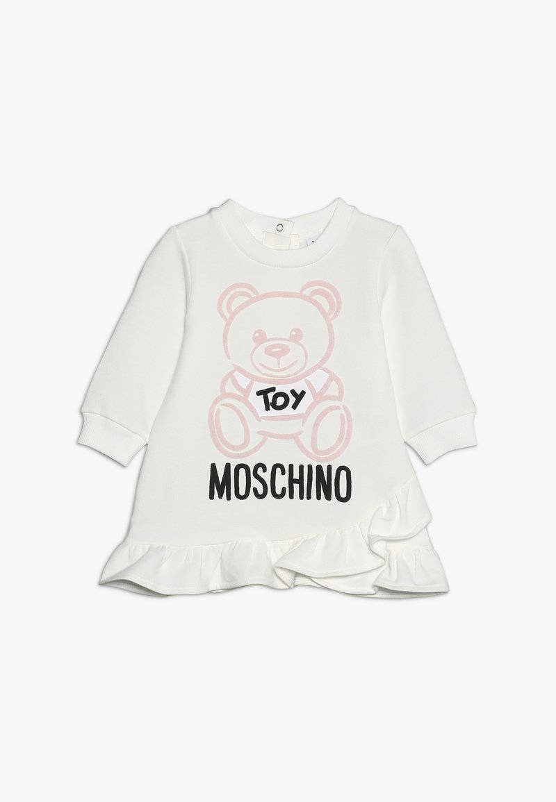 MOSCHINO - DRESS WITH GIFT BOX - Baby gifts - cloud