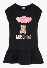 MOSCHINO - DRESS - Denní šaty - black - 0