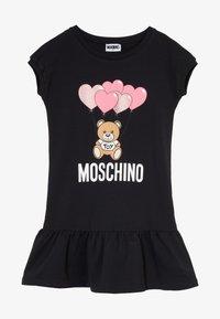MOSCHINO - DRESS - Day dress - black - 3