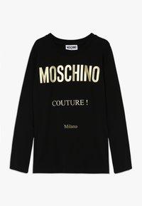 MOSCHINO - Long sleeved top - black - 0