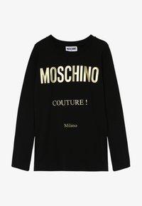 MOSCHINO - Long sleeved top - black - 2