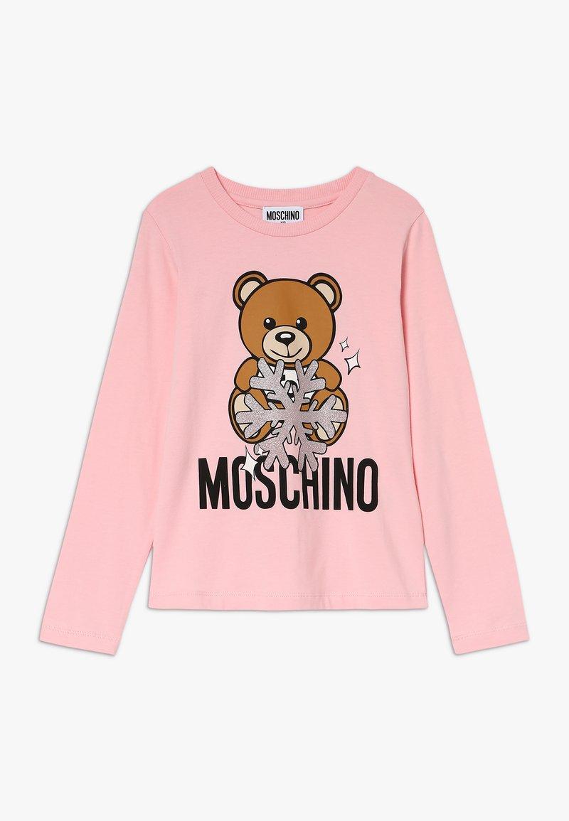 MOSCHINO - Long sleeved top - sugar rose