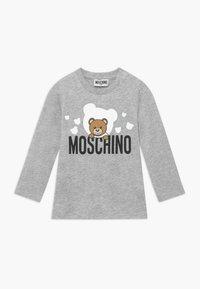 MOSCHINO - Longsleeve - grigio chiaro - 0
