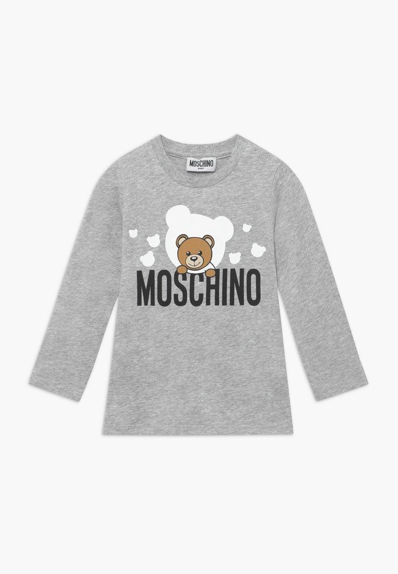 MOSCHINO - Longsleeve - grigio chiaro