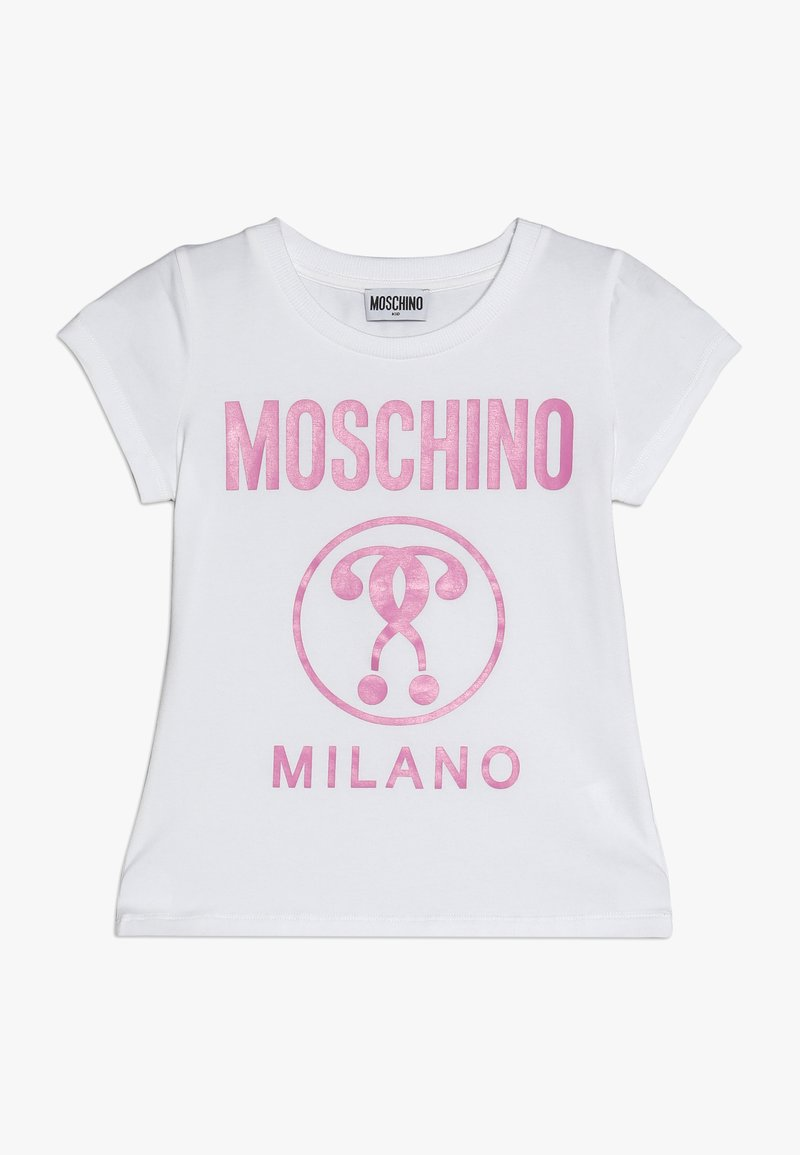 MOSCHINO - Printtipaita - optical white