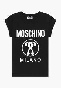 MOSCHINO - Printtipaita - black - 0