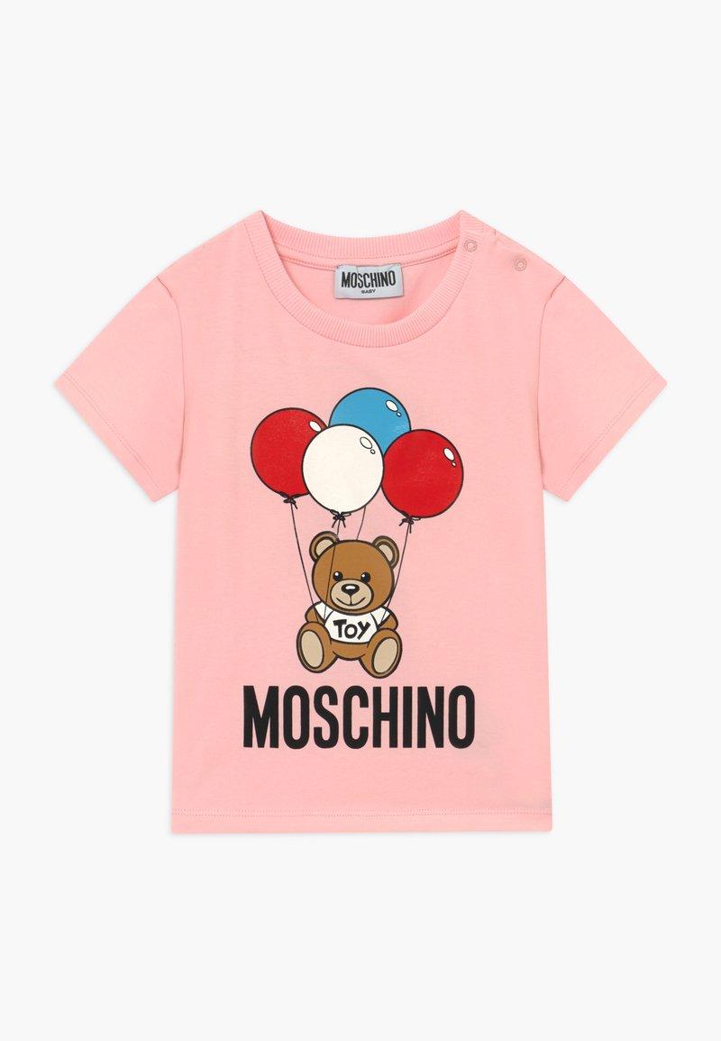 MOSCHINO - T-shirt print - sugar rose