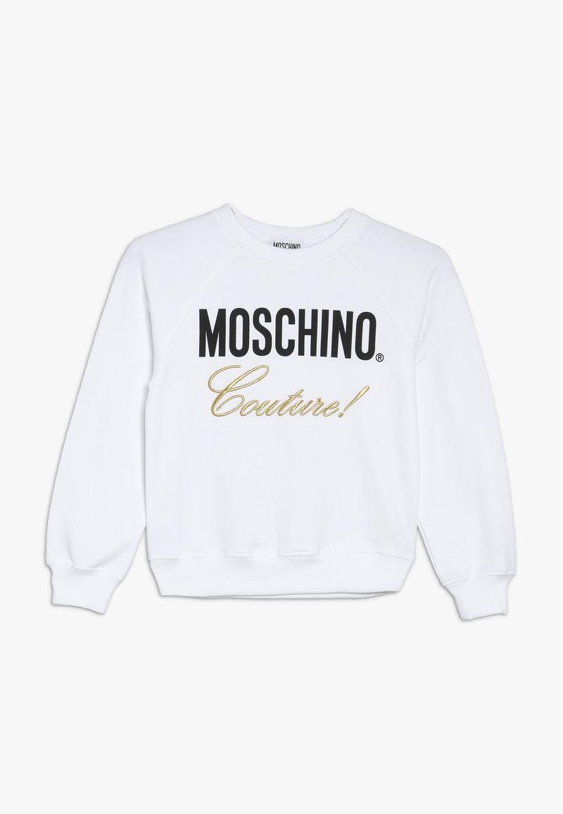 MOSCHINO - Sweatshirt - optic white