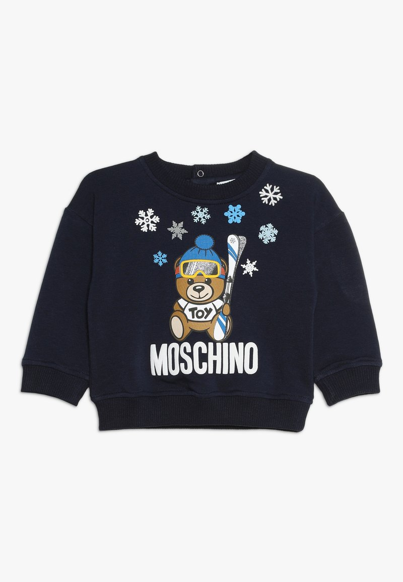 MOSCHINO - Sweatshirt - blue navy