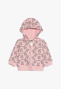 MOSCHINO - HOODED - Zip-up hoodie - rose - 0