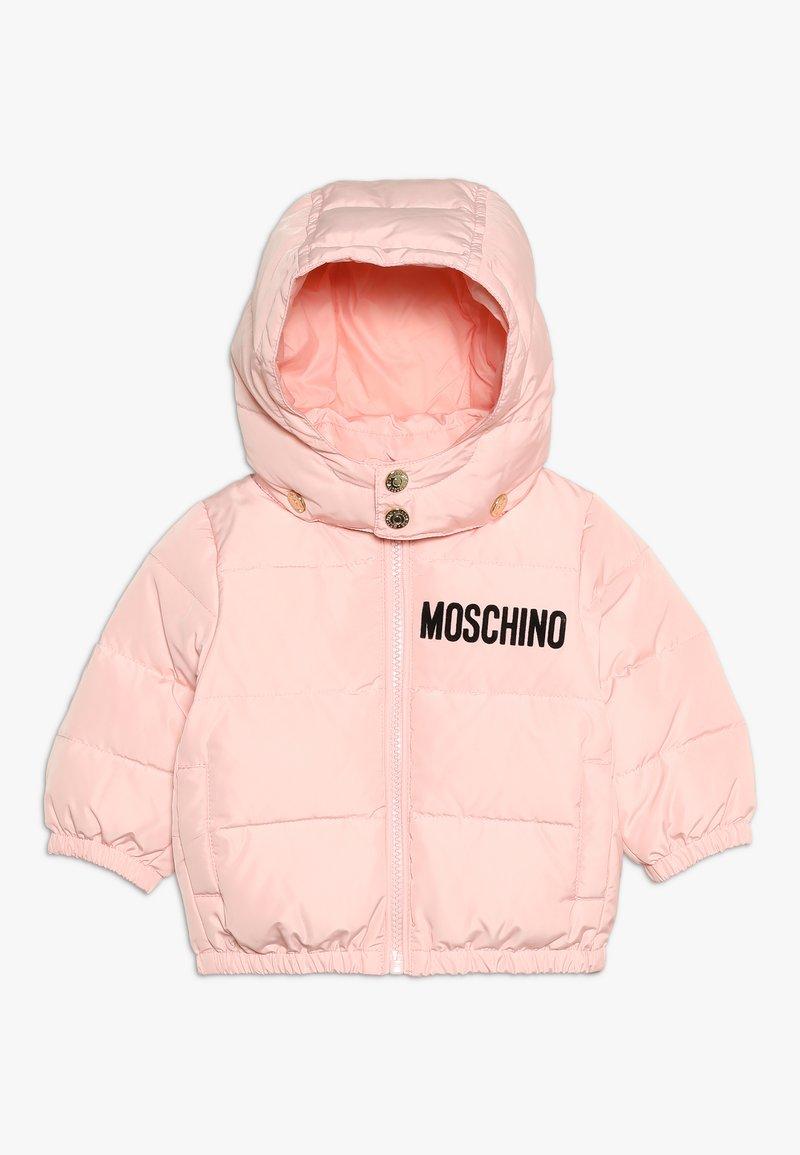 MOSCHINO - PADDED JACKET - Down jacket - sugar rose