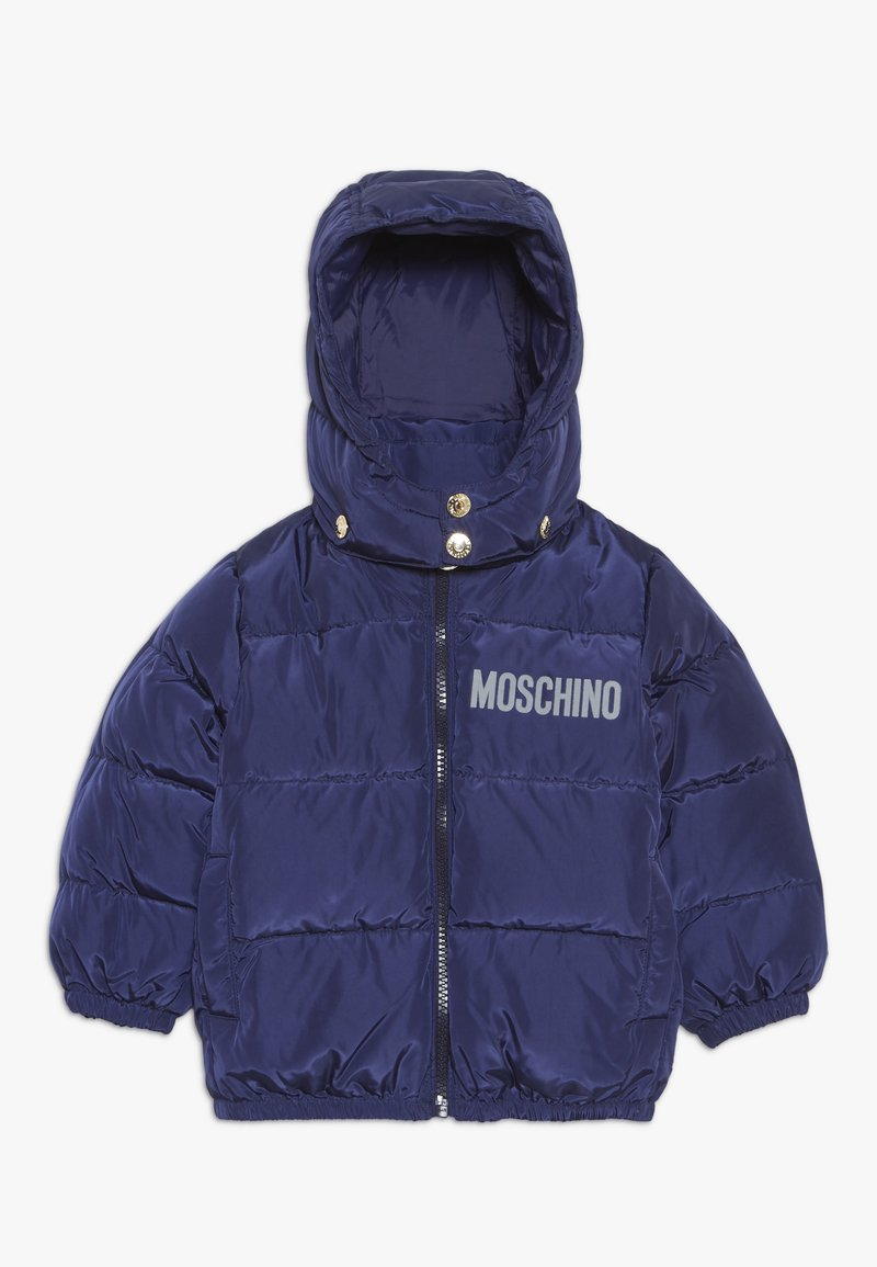 MOSCHINO - PADDED JACKET - Chaqueta de plumas - blue navy