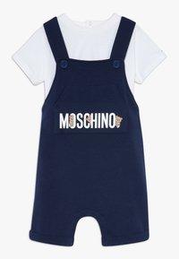 MOSCHINO - SALOPETTE SET - Lacláče - navy blue - 0