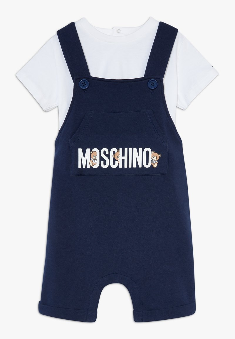 MOSCHINO - SALOPETTE SET - Lacláče - navy blue