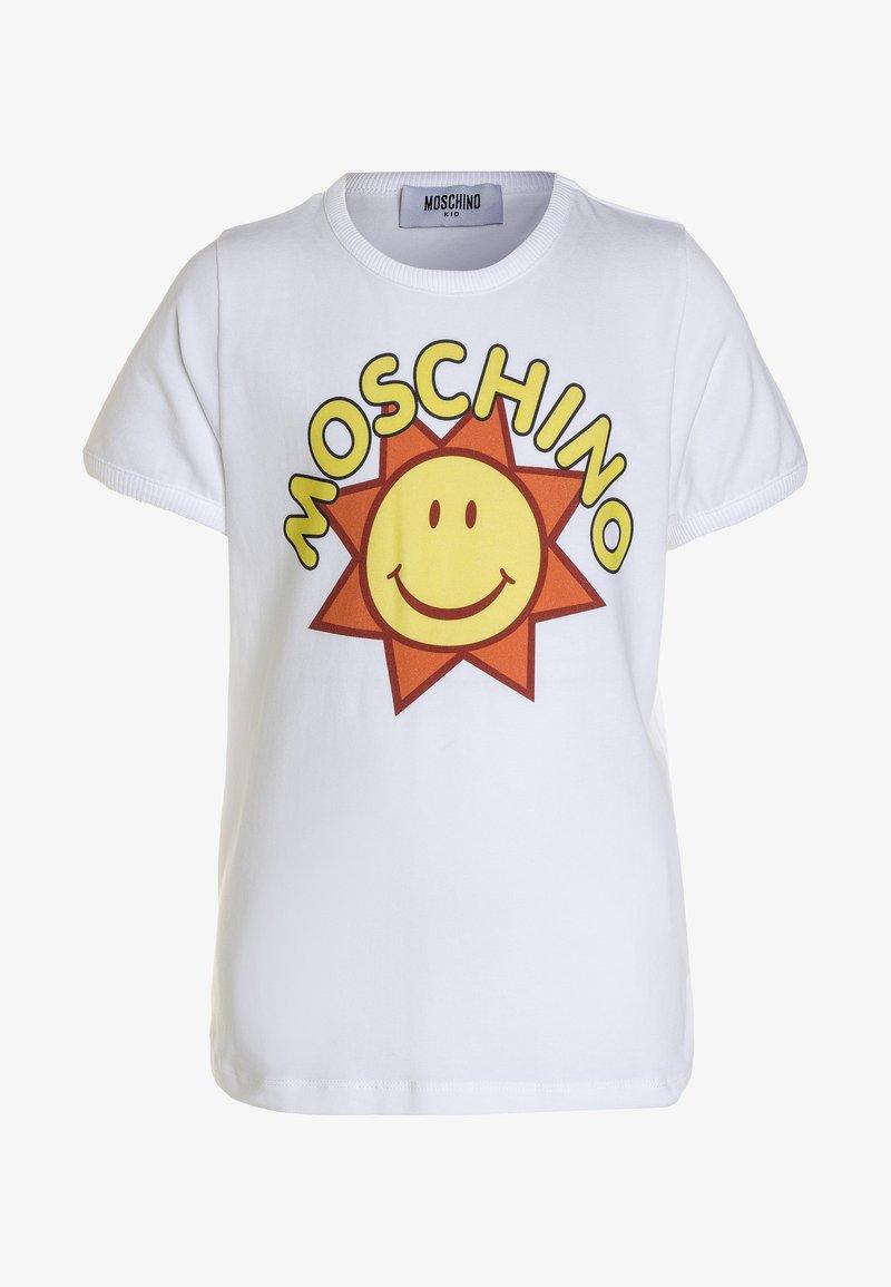 MOSCHINO - T-Shirt print - bianco ottico