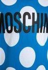MOSCHINO - Printtipaita - baya blue/white
