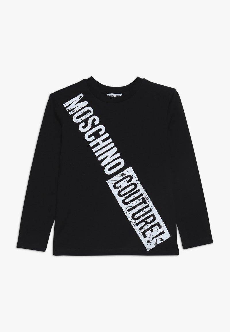 MOSCHINO - Long sleeved top - black