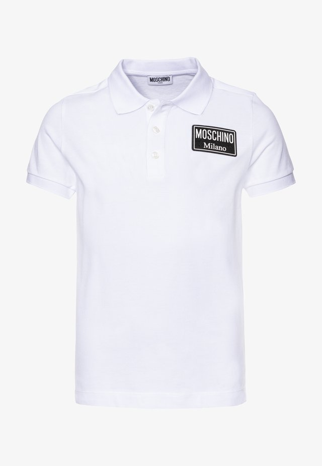 ADDITION - Poloshirts - optical white