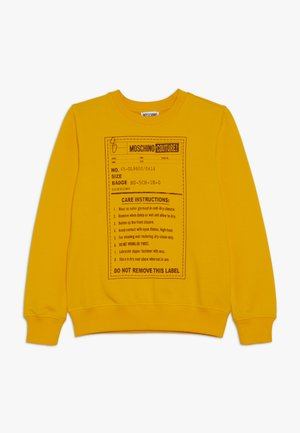 Sweater - dark yellow