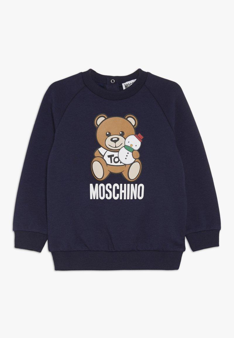 MOSCHINO - Sweatshirt - blue navy