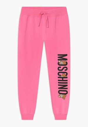 ADDITION - Tracksuit bottoms - dark pink