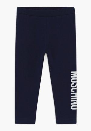 Leggings - navy blue