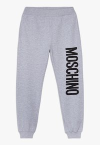 MOSCHINO - Tracksuit bottoms - grigio chiaro melange - 0