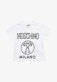 MOSCHINO - BABY - Printtipaita - bianco ottico - 0