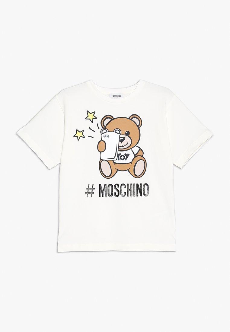MOSCHINO - MAXI - Print T-shirt - cloud