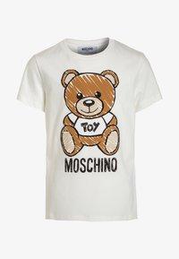MOSCHINO - Print T-shirt - cloud - 0